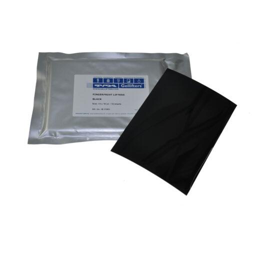 Gelatinefolie 13x18 schwarz