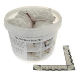 Snow Print Plaster