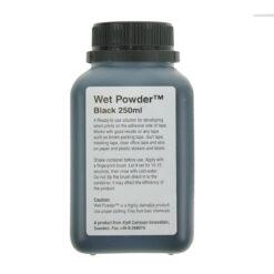 Wet Powder, schwarz